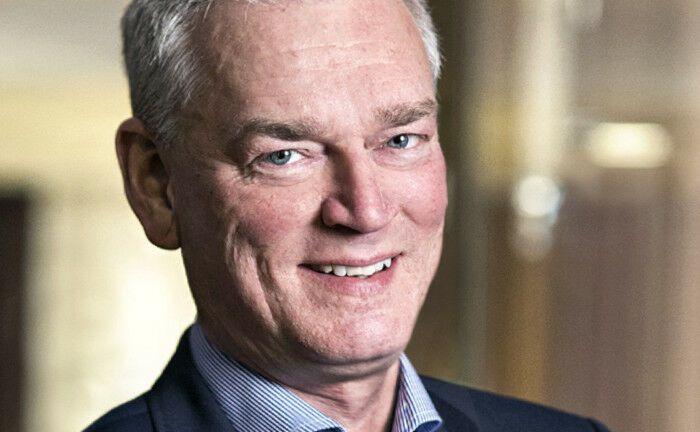 War elf Jahre Chef von AP1: Johan Magnusson.