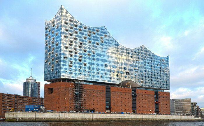 Teil der Hamburger Hafen City: Die Elbphilharmonie.|© Pexels
