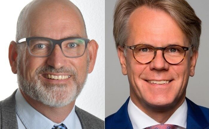"""Ian Tidswell (l.) und Norbert Paddags: """"Das Pricing ist im Vergleich zu anderen Ansätzen der effektivste Hebel zur Steigerung der Profitabilität."""""""