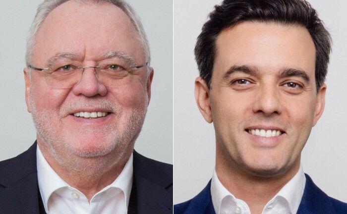 Bernd von Manteuffel (li.) und Christophe Nadal haben Mimco Capital gegründet und leiten das Unternehmen.|© Mimco Capital