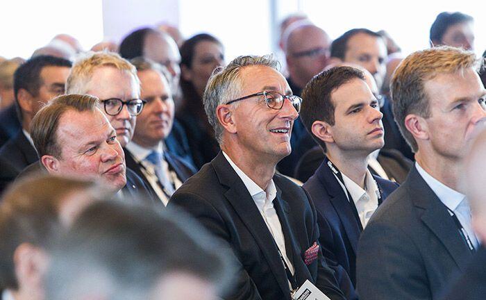 Teilnehmer des 19. private banking kongress in Hamburg. |© Anna Rauchenberger/Arman Rastega