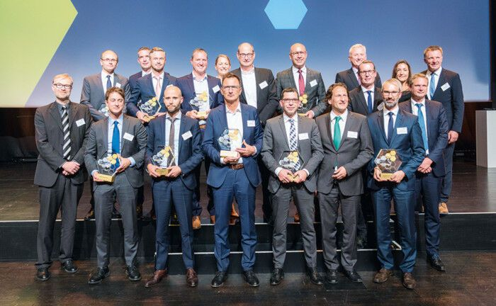 Strahlende Gesichter: Die Gewinner der Institutional Assets Awards 2019