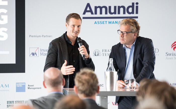 Special Guest Marcell Jansen, Präsident des HSV, im Gespräch mit Malte Dreher, Herausgeber des private banking magazin