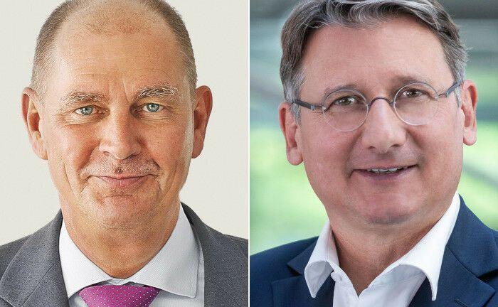 Heiner Feldhaus (li.), Stefan Hanekopf|© Concordia-Versicherungen (Feldhaus), Öffentliche Versicherung Braunschweig (Hanekopf)