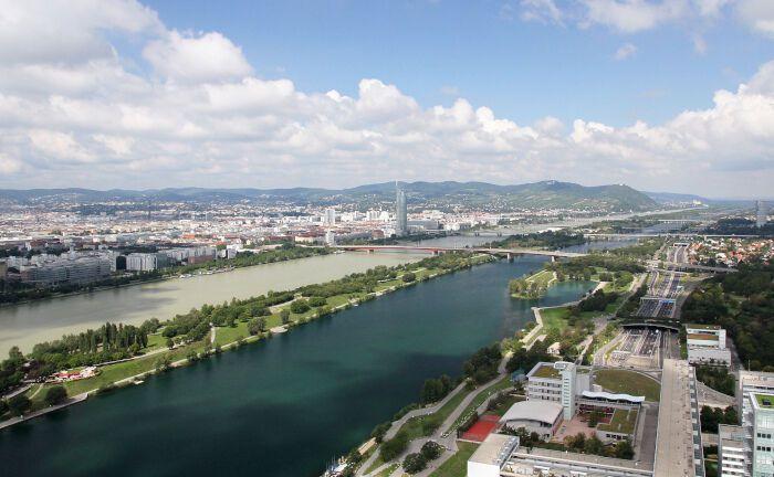 Blick auf Wien. In der Donau-Metropole trafen sich institutionelle Anleger zum Investorentag von Faros.|© Bwag/CC-BY-SA-4.0