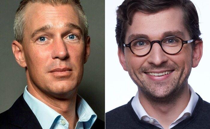 Liqid-Chef Christian Schneider-Sickert (l.) und Karl Hunger, neuer Geschäftsführer des Tochterunternehmens Liqid Asset Management.