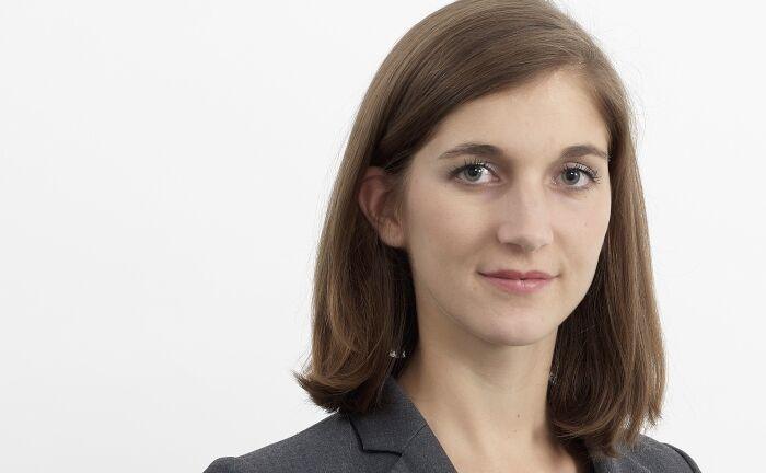 """Jennifer Nerlich, Portfoliomanagerin Invesco Quantitative Strategies: """"Wir messen einen Zusammenhang zwischen den Qualitäts- und Governance-Faktoren im Hinblick auf die Rendite""""."""