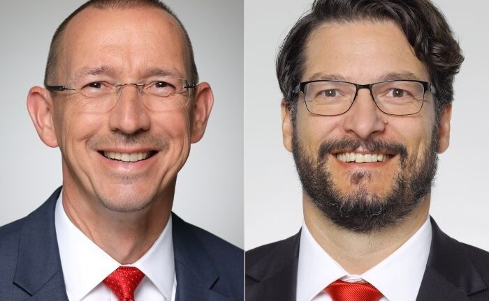 Oliver Postler (l.) und Philip Gisdakis.