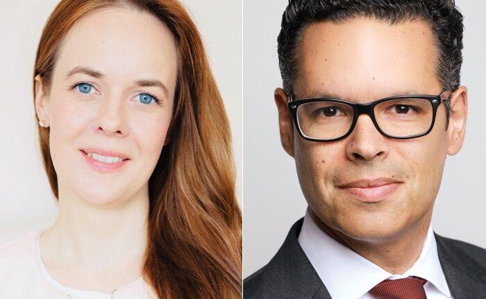 Die Geschäftsführung des Single Family Office Capella Vermögensverwaltung: Dr. Nadine Becken und Rafael Morón Zirfas