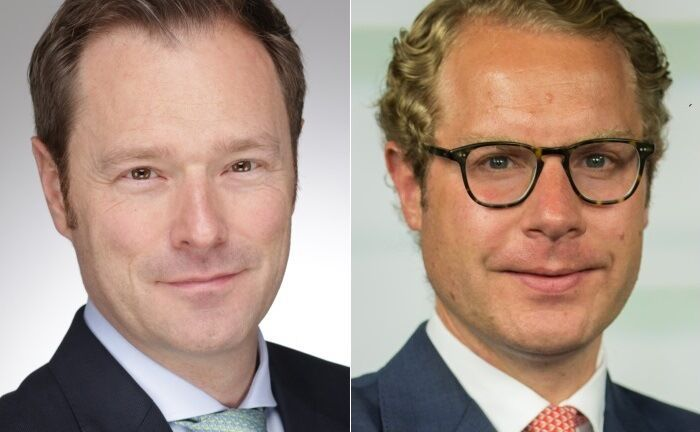 Marcus Stollenwerk (l.) und Tobias Vogel. |© UBS