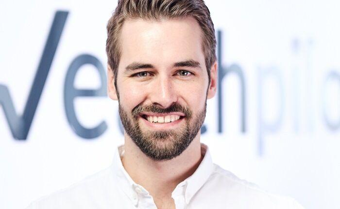 Stephan Schug, einer der Gründer und Geschäftsführer von Wealthpilot.|© Wealthpilot