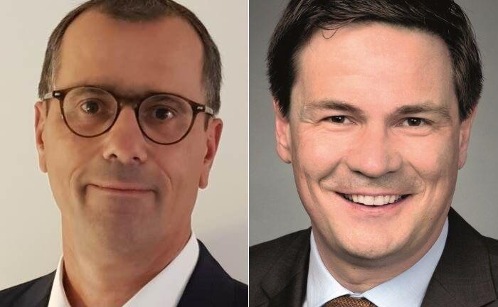 Neuzugang Sven-Oliver Gercke (l.) und Werner Hedrich, Geschäftsführer von Globalance Invest.