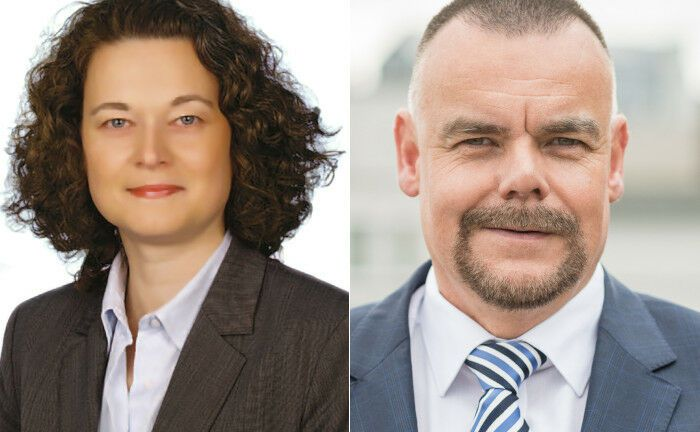 Melanie Jura und Frank Scheer bilden ab 2020 den Vorstand der Hamburger Pensionsverwaltung.|© Hamburger Pensionsverwaltung