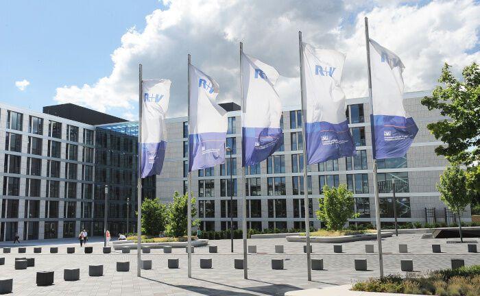 Sitz der R+V in Wiesbaden: Die Versicherung betreut alle neuen arbeitgeberfinanzierten Betriebsrenten-Verträge von Mitarbeiterinnen und Mitarbeitern der Caritas-Rechtsträger. |© R+V-Versicherung