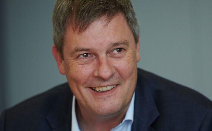 Gregor Asshoff ist Vorstandsmitglied der Soka-Bau: Die Pensionseinrichtung hat in diesem Jahr mehrere Awards errungen.