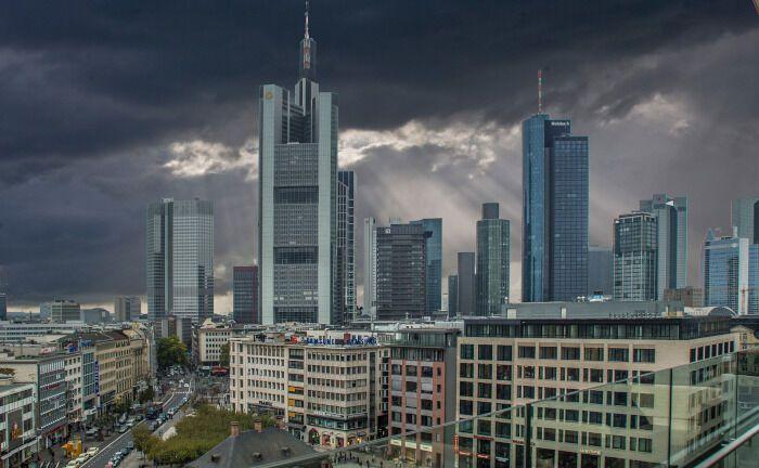 Das Zentrum von Frankfurt am Main: In der Mainmetropole agiert auch das 2015 gegründete Fintech Catana Capital.