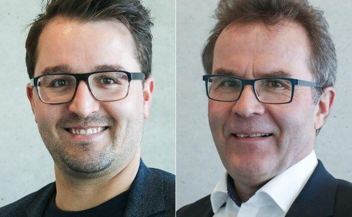 Ansgar Büttner (r.) hatte Sohn Michael zu Jahresbeginn von der Deutschen Bank ins Familienunternehmen geholt. |© Büttner Finanzberatung