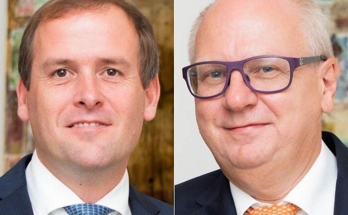 Michael Frauenschuh (l.) und Markus Melms haben einen eigenen Ansatz entwickelt, der in erster Linie mit Ausschlusskriterien arbeitet. |© Alpenbank