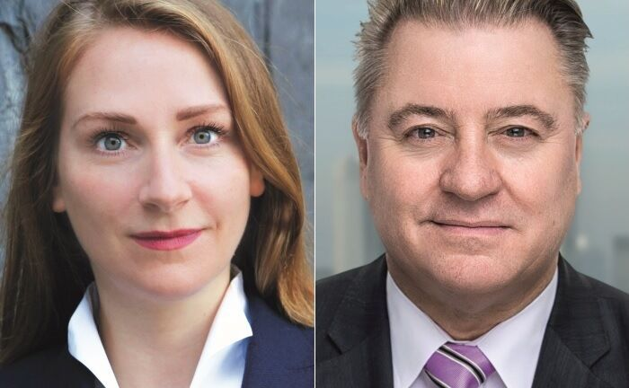 Maren Gräfe und Michael Brück