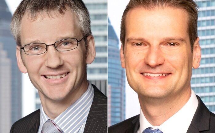 Peter Flöck (l.) wechselt hausintern auf eine andere Position, während Victor Bemmann den Posten des Leiters Portfoliomanagement übernimmt.