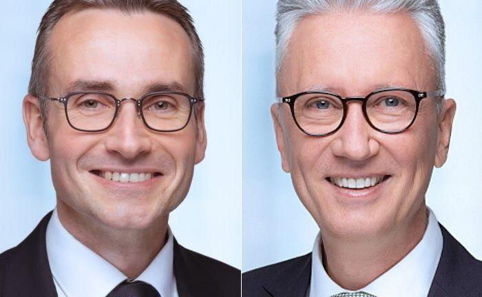 Christian Stadtmüller (l.) und Jochen Butz: Das Duo lenkt künftig die Geschicke von HQ Trust. |© HQ Trust