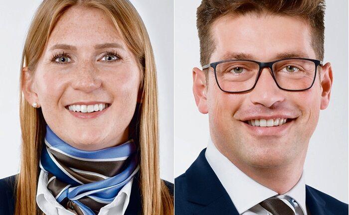 Andrea Ruf und Vasilios Tsiolas haben sich dem Private Banking der Südwestbank in Stuttgart angeschlossen.