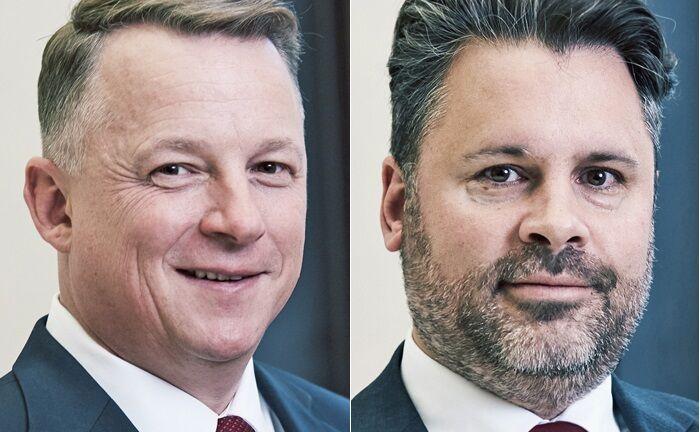 Die Gründer und geschäftsführenden Gesellschafter Markus Jesberger (rechts) und Thomas Segura