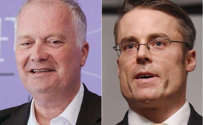 Martin Ulmer (l.) und Oliver Klein sind zwei von mehreren Protagonisten der neu gegründeten Wealth-Management-Boutique Deutsche Treuwert.|© Deutsche Treuwert
