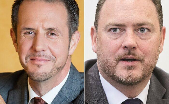Niederlassungsleiter Deutschland Patrick Linden (Rouvier Associés) und RPA-Vorstand Steffen Blaudszun (RPA): Die Gesellschaften wollen kooperieren.