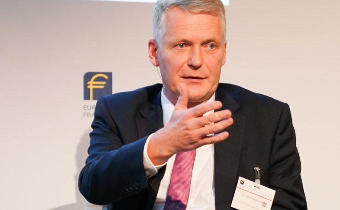 Uwe Siegmund ist Chefanlagestratege der R+V-Versicherungsgruppe: Die Kapitalanlagen der R+V sind rund 120 Milliarden Euro wert. |© Nadine Stegemann