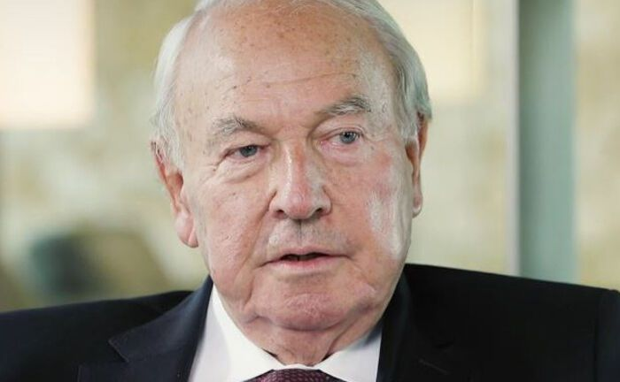 Heinz Herrmann Thiele erinnert an früheren Deutsche-Bank-Chef