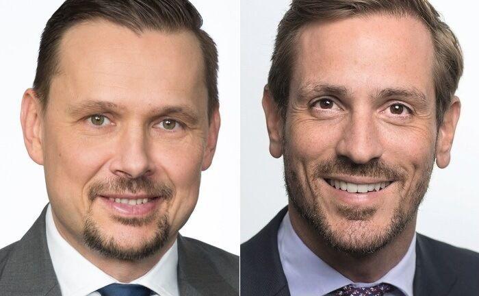 Thomas Kraus (l.) und Sascha Specketer.