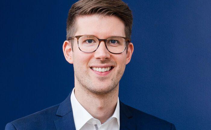 Christopher Grätz ist Chef und Mitgründer des Berliner Fintechs Kapilendo.