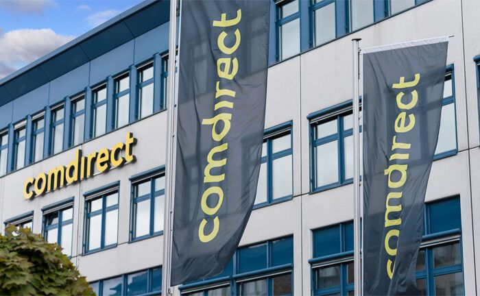 Comdirect-Zentrale in Quickborn: Die Commerzbank-Tochter erhebt Negativzinsen für Privatkunde, die mehr als 250.000 Euro auf dem Girokonto haben.|© Comdirect
