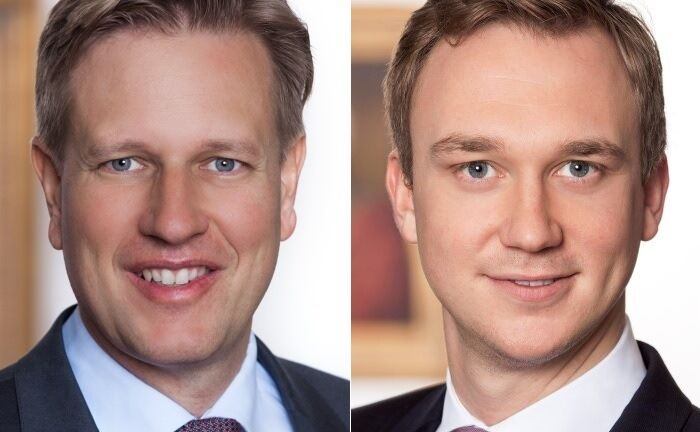 "Matthias Born (l.) leitet als Investmentchef die Investment-Plattform von Berenberg, Matthias Grimm übernimmt die Leitung des in ""Investment & Risk Management Solutions"" umbenannten Quantitative Asset Management (QAM).  
