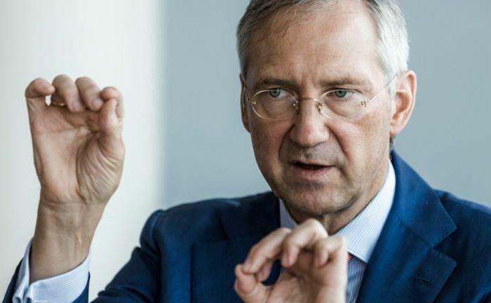 """Fondsmanager Bert Flossbach: """"Das Gerede über technische Rezessionen ist ohnehin Unfug""""."""