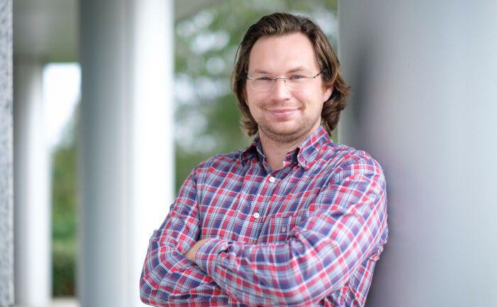 Oliver Dreiskämper: Der Robo-Experte kümmert sich ab dem Jahreswechsel um die digitale Vermögnesverwaltung von Fidelity.