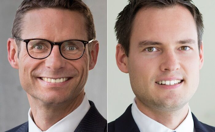 Achim Siller (l.) ist Leiter Portfoliomanagement bei Pictet Wealth Management in Deutschland. Thomas Costerg Senior-Analyst und Ökonom bei Pictet Wealth Management in Genf. | © Pictet