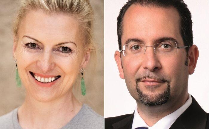 Die beiden Neuzugänge im Beirat: Christin ter Braak–Forstinger und Teodoro Cocca. |© Stiftung Nextgen