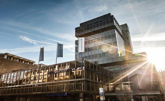 Zentrale der Südwestbank in Stuttgart.