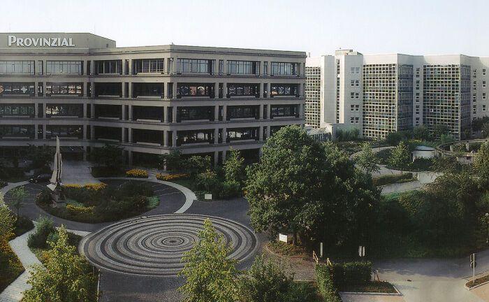 Direktionsgebäude der Provinzial-Nord-West in Münster: Der in der Sparkassen-Finanzgruppe verwurzelte Versicherungskonzern ist der 2005 unter der Schirmherrschaft der Vereinten Nationen gegründeten PRI beigetreten.|© Provinzial-Nord-West
