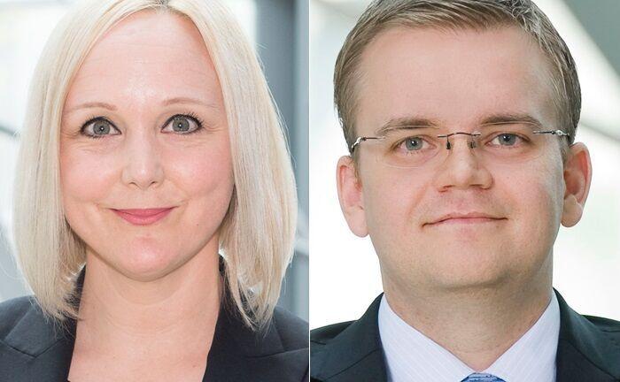 Katja Becker und Stephan Niemand übernehmen neue Führungsaufgaben in der Deutschen Bank.