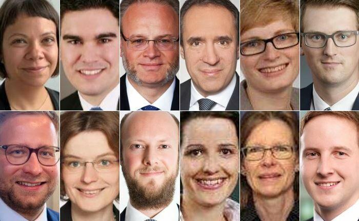 Das EY-Team Private Client Services Tax von Sven Oberle (3. von rechts oben) am Standort Frankfurt. |© EY