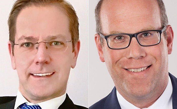 Aurecon-Geschäftsführer Markus Schön (l.) und Neuzugang Stefan Broszio.