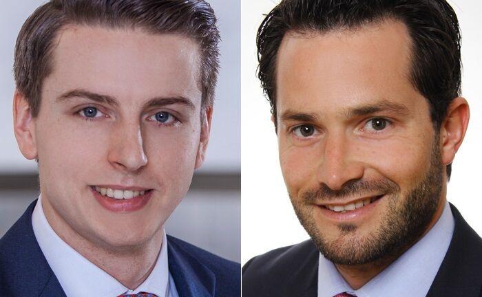 Philipp Söchtig und Sebastian Zimmermann leiten seit Mitte September 2019 die innerbetrieblichen Abläufe des Wealth und Asset Management der Berenberg Bank.