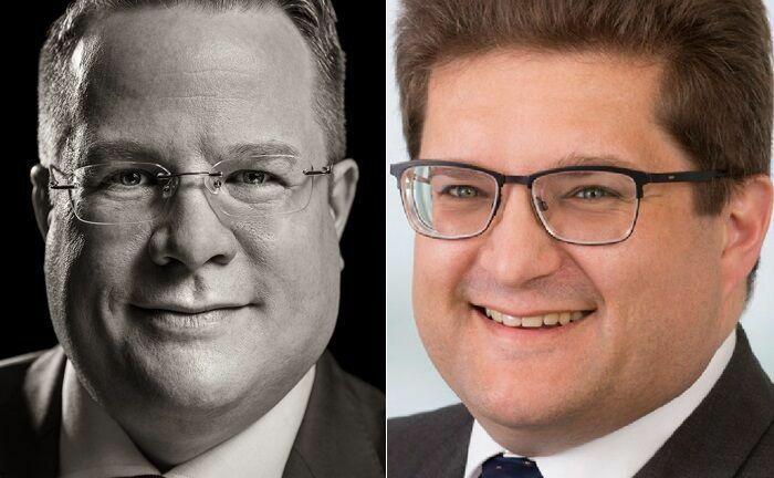Stefan R. Haake (l.) und Ferenc von Kacsóh sind zwei von vier Gründern des Multi Family Office Pariter Fortis. |© Kerstin Keysers Photographie