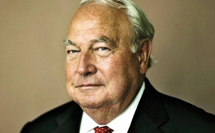 Heinz Herrmann Thiele ist Mehrheitseigner von Knorr-Bremse, einem weltweit führenden Hersteller von Bremssystemen für Schienen- und Nutzfahrzeuge.