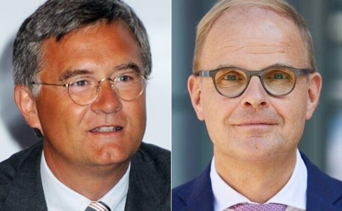 Hanns Ostmeier (l.) und Peter Oertmann: Die beiden Neuzugänge fungieren als Aufsichtsratschef und dessen Stellvertreter.