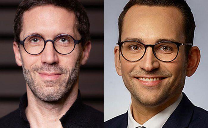 Elinvar-CEO Chris Bartz (i.) und Fondsdepot-Bank-Chef Sebastian Henrichs.   |© Elinvar/Fondsdepot Bank