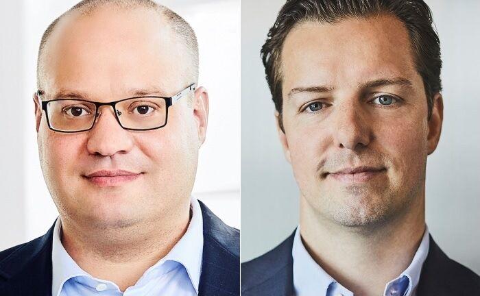 Nils Seebach (l.) und Fabian Fischer